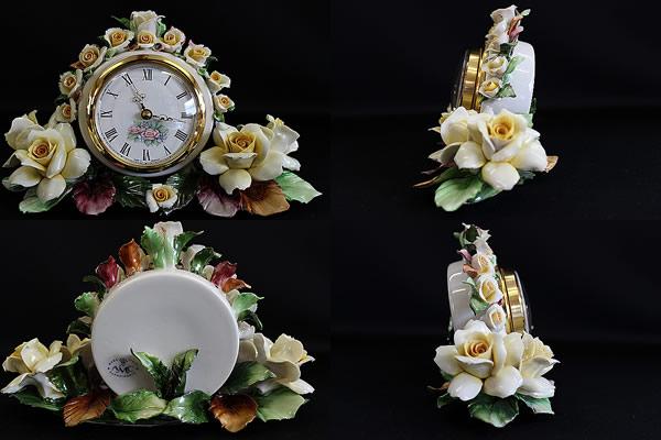 ■カポディモンテ CAPODIMONTE AMC■置き時計■ (2)