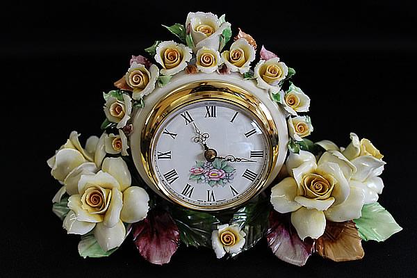 ■カポディモンテ CAPODIMONTE AMC■置き時計■
